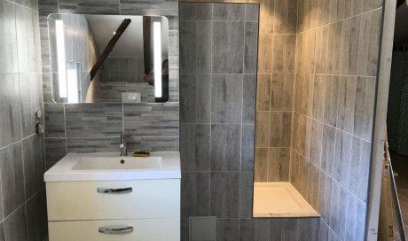 Création et rénovation salle de bain moderne sur mesure clé en main à Béziers