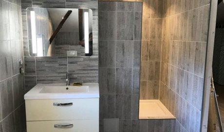 rénovation salle de bain et sanitaire design sur mesure clé en main à Villeneuve-les-Béziers